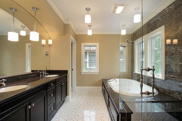 Cleaning Bathroom Light Fixtures